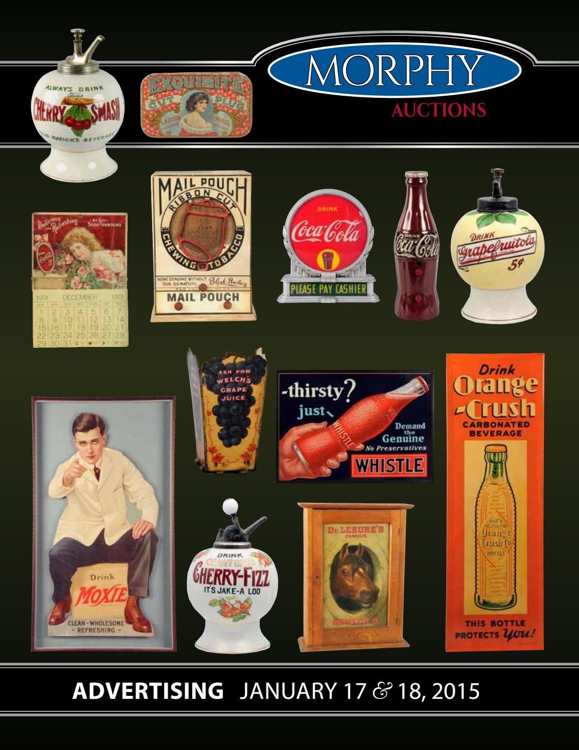 2015 January 17-18 Advertising by Morphy Auctions - issuu 3824c7773