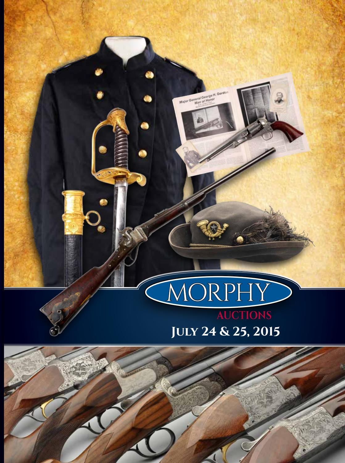 2015 July 24-25 Firearms by Morphy Auctions - issuu