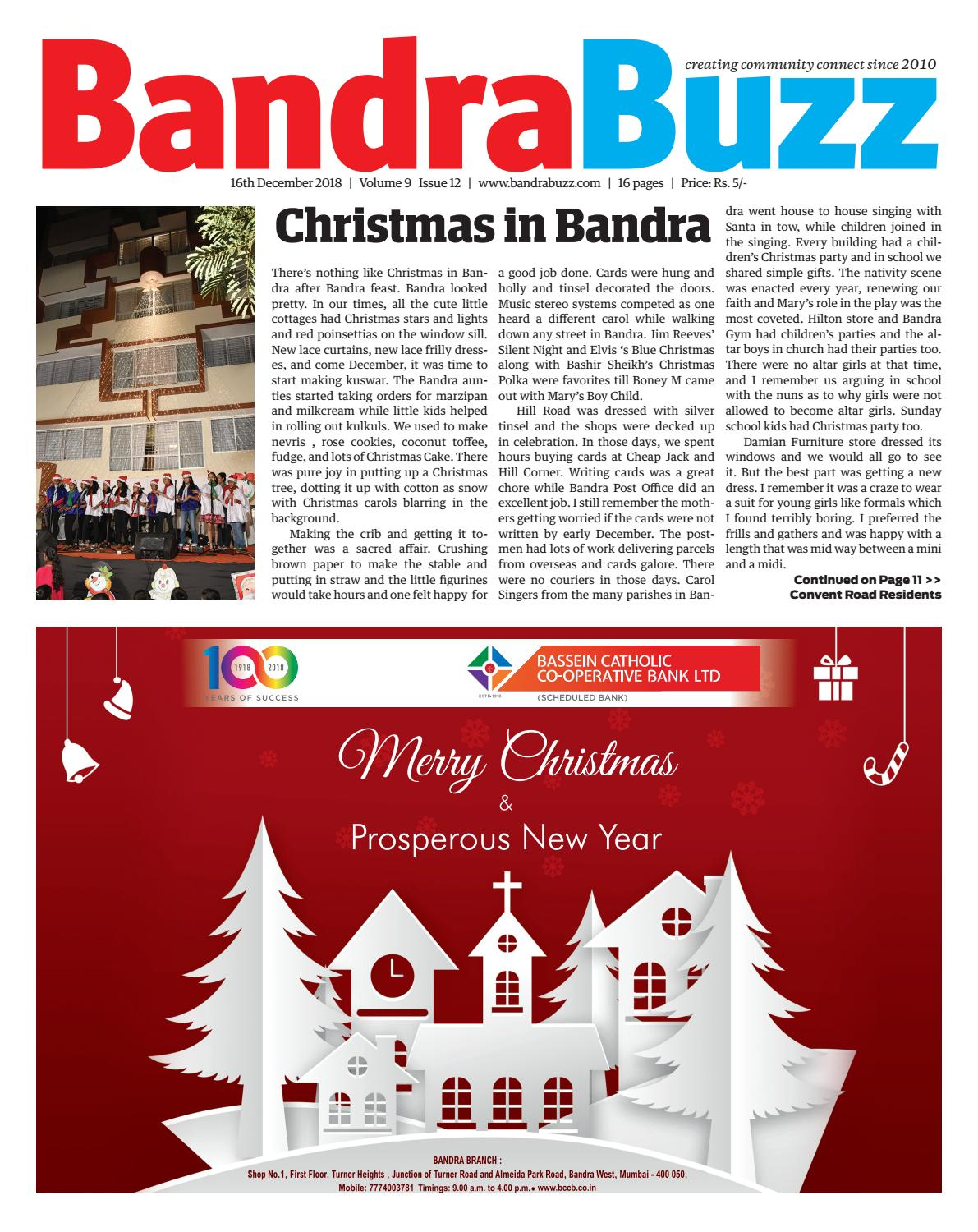 December 2018 by Bandra Buzz - issuu