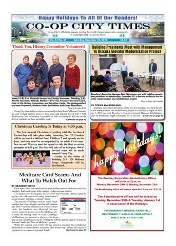 Co-op City Times 12/22/18 by Co-op City Times - issuu