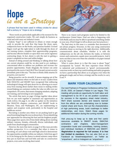 Page 3 of Hope is not a strategy