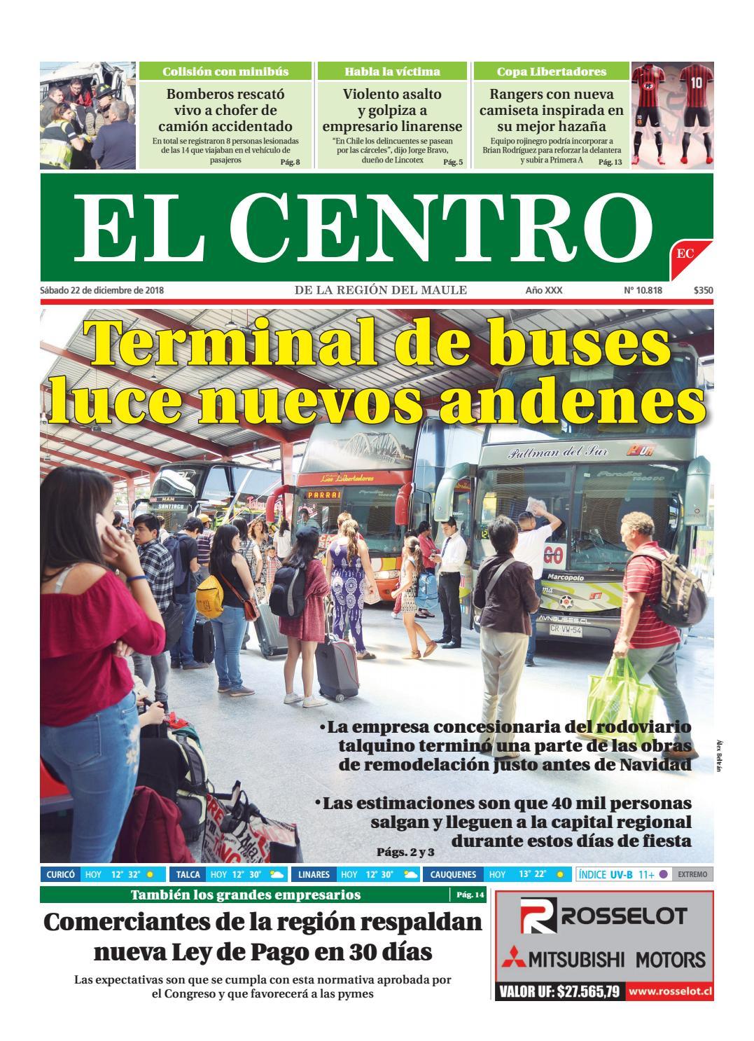 Diario 22-12-2018 by Diario El Centro S.A - issuu 43c7309046169