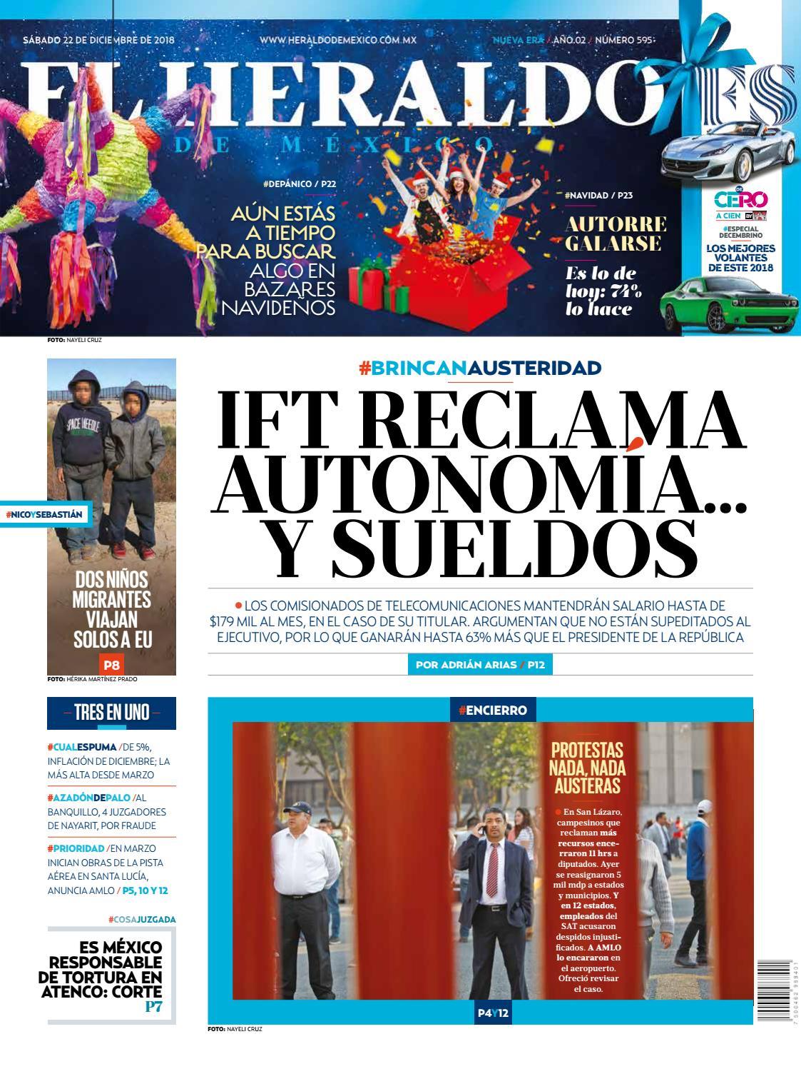 8b2fc902b9b 22 de diciembre de 2018 by El Heraldo de México - issuu