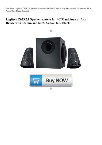 Best Price Logitech Z623 2 1 Speaker System for PCMacLinux or Any