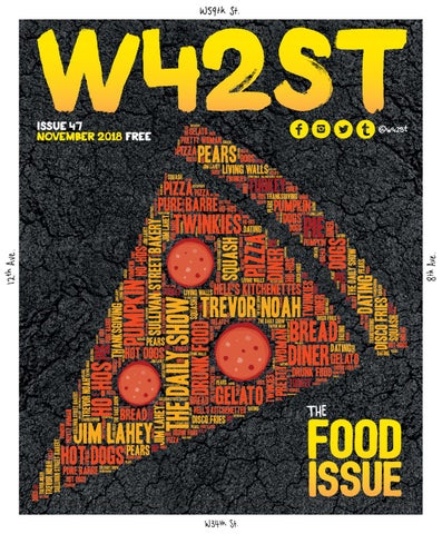 00865a0402e W42ST Issue 47 - The Food Issue by W42ST Magazine - issuu