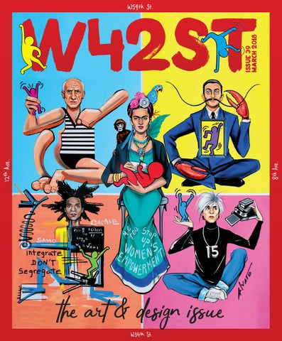 W42st Issue 39 The Art Design Issue By W42st Magazine Issuu