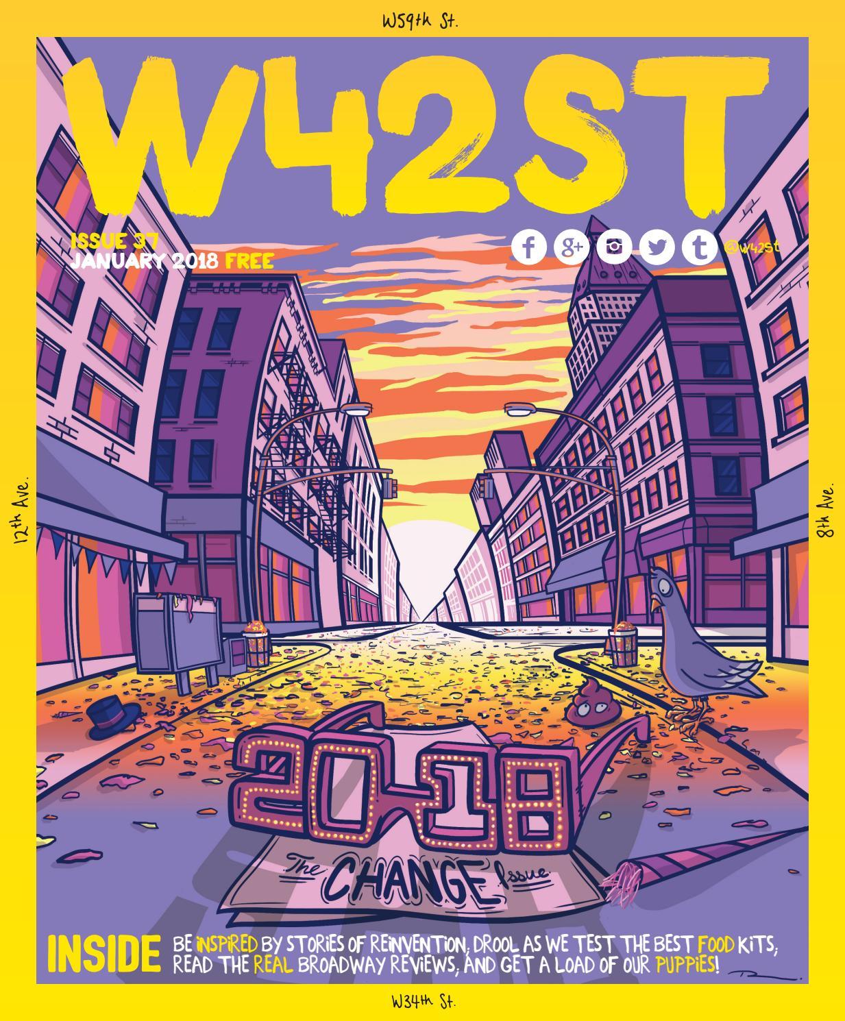 W42ST issue 37 - The Change Issue by W42ST Magazine - issuu 64858b1c709