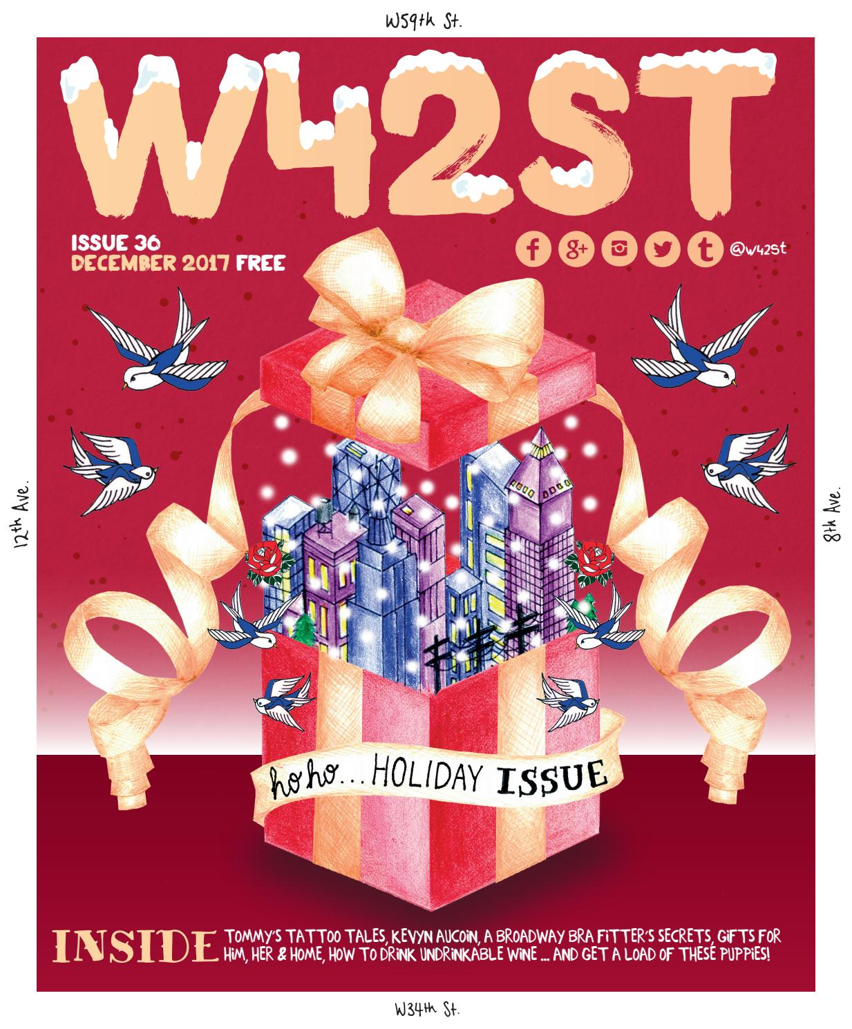 09a0ff1ac W42ST Issue 36 - the Ho-ho-holidays issue by W42ST Magazine - issuu
