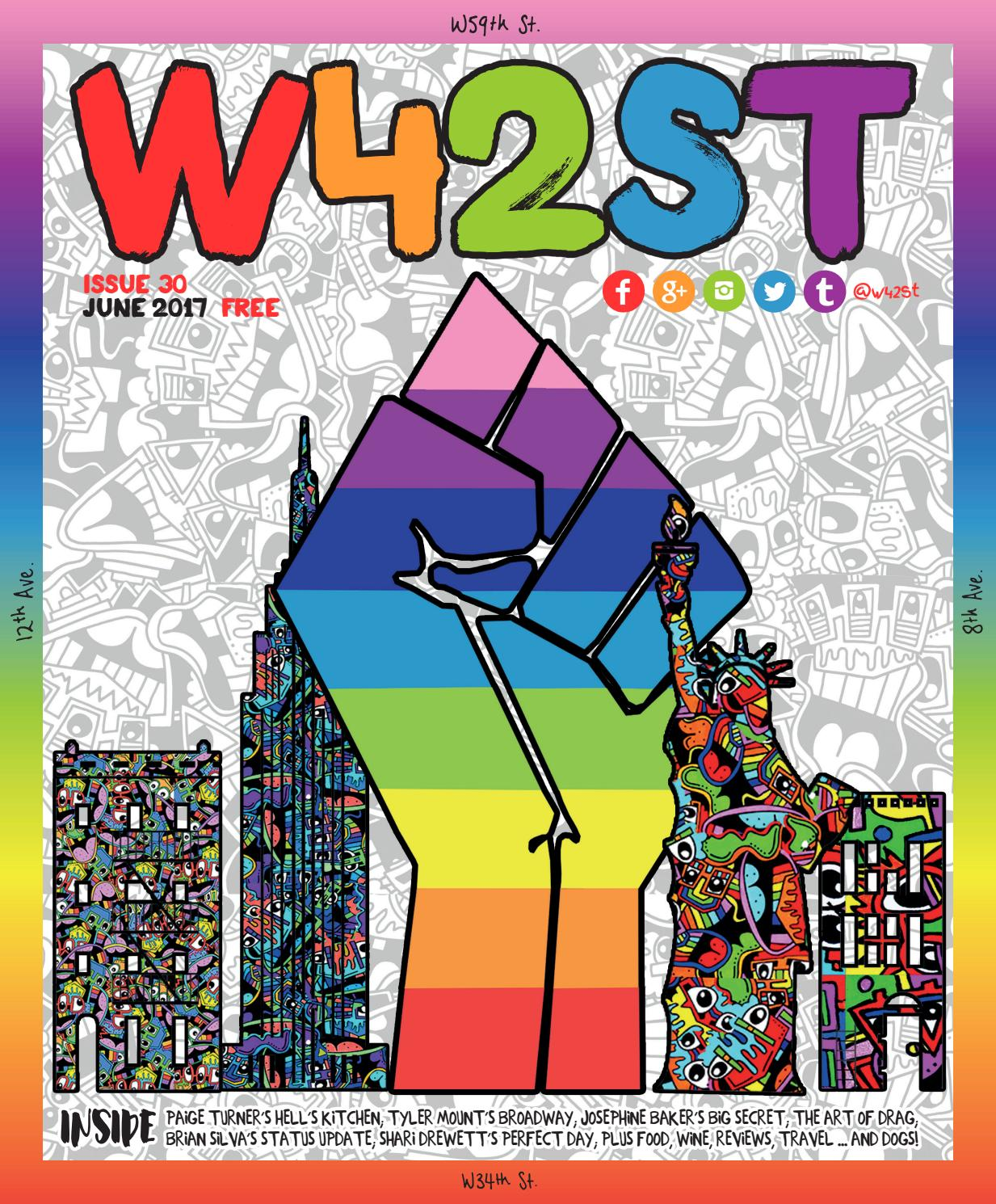 19d9683bb62 W42ST Issue 30 - we re all about Pride by W42ST Magazine - issuu