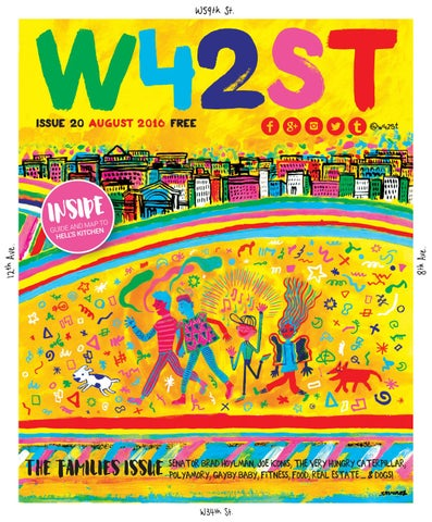 77abe48692a W42ST issue 20 - Hell s Kitchen - welcome to the family by W42ST ...