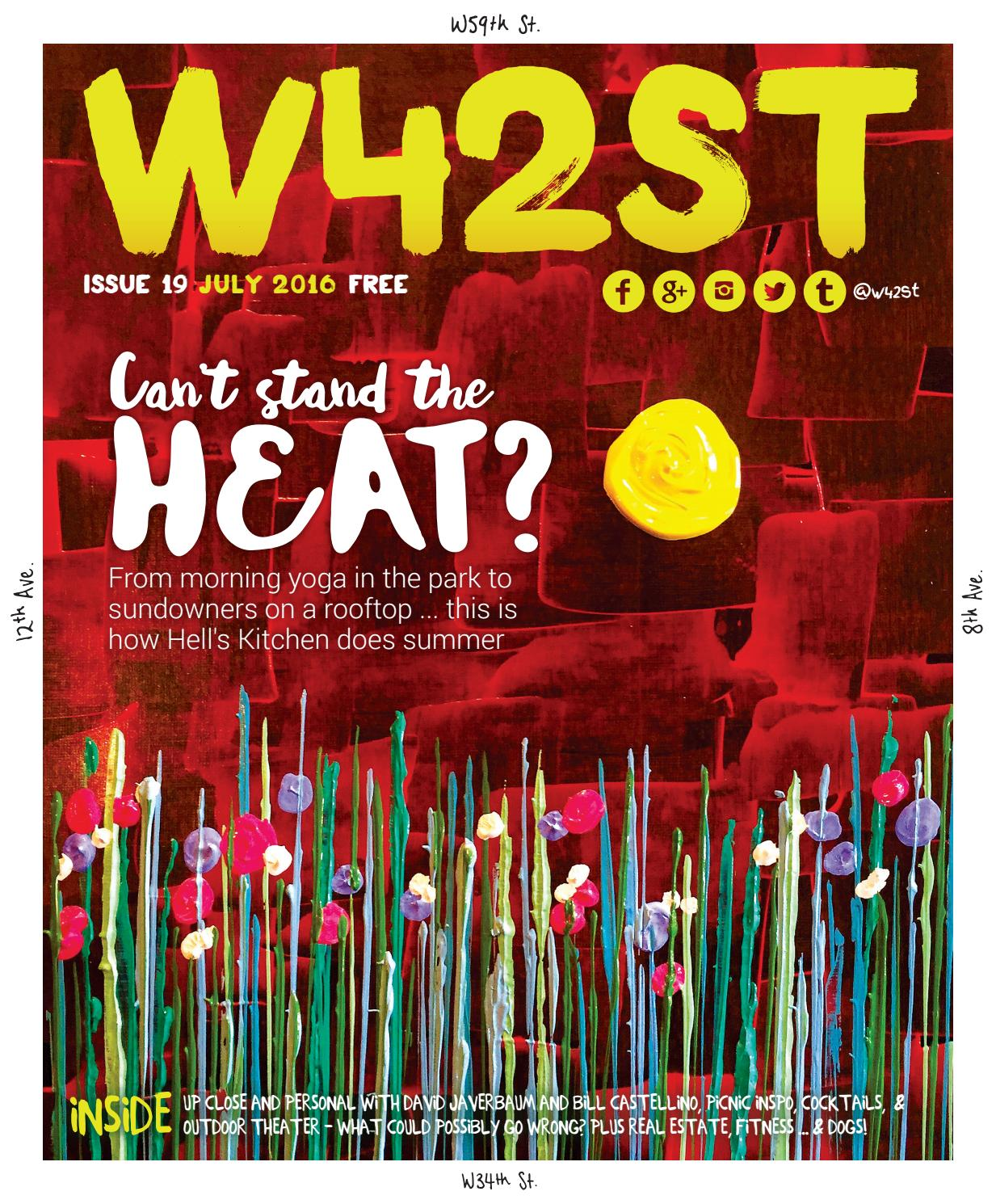 W42st Issue 19 Hell S Kitchen Come Out To Play By W42st