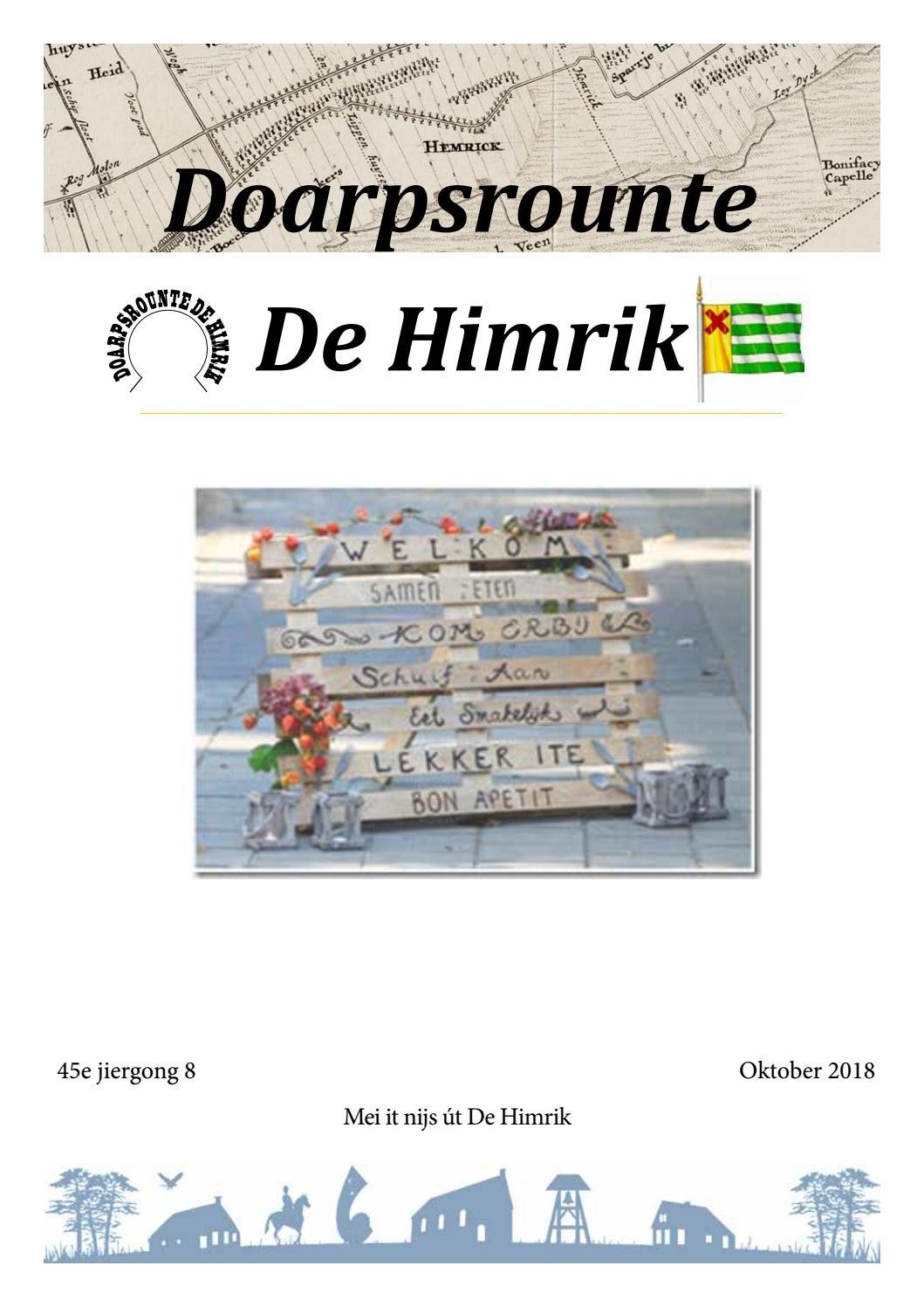 Doarpsrounte De Himrik Okt By Drdehimrik Issuu