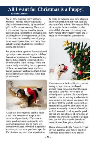 Page 28 of All I Want For Christmas is a Puppy!