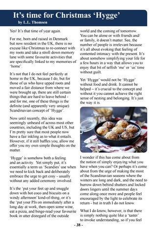 Page 40 of It's Time for Christmas 'Hygge'