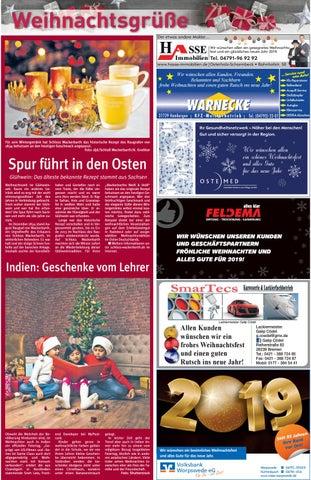 Etwas Andere Weihnachtsgrüße.Hamme Report Vom 23 12 2018 By Kps Verlagsgesellschaft Mbh Issuu