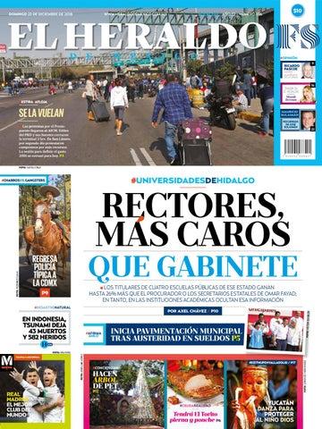 23 de diciembre de 2018 by El Heraldo de México - issuu 53f36e5b255