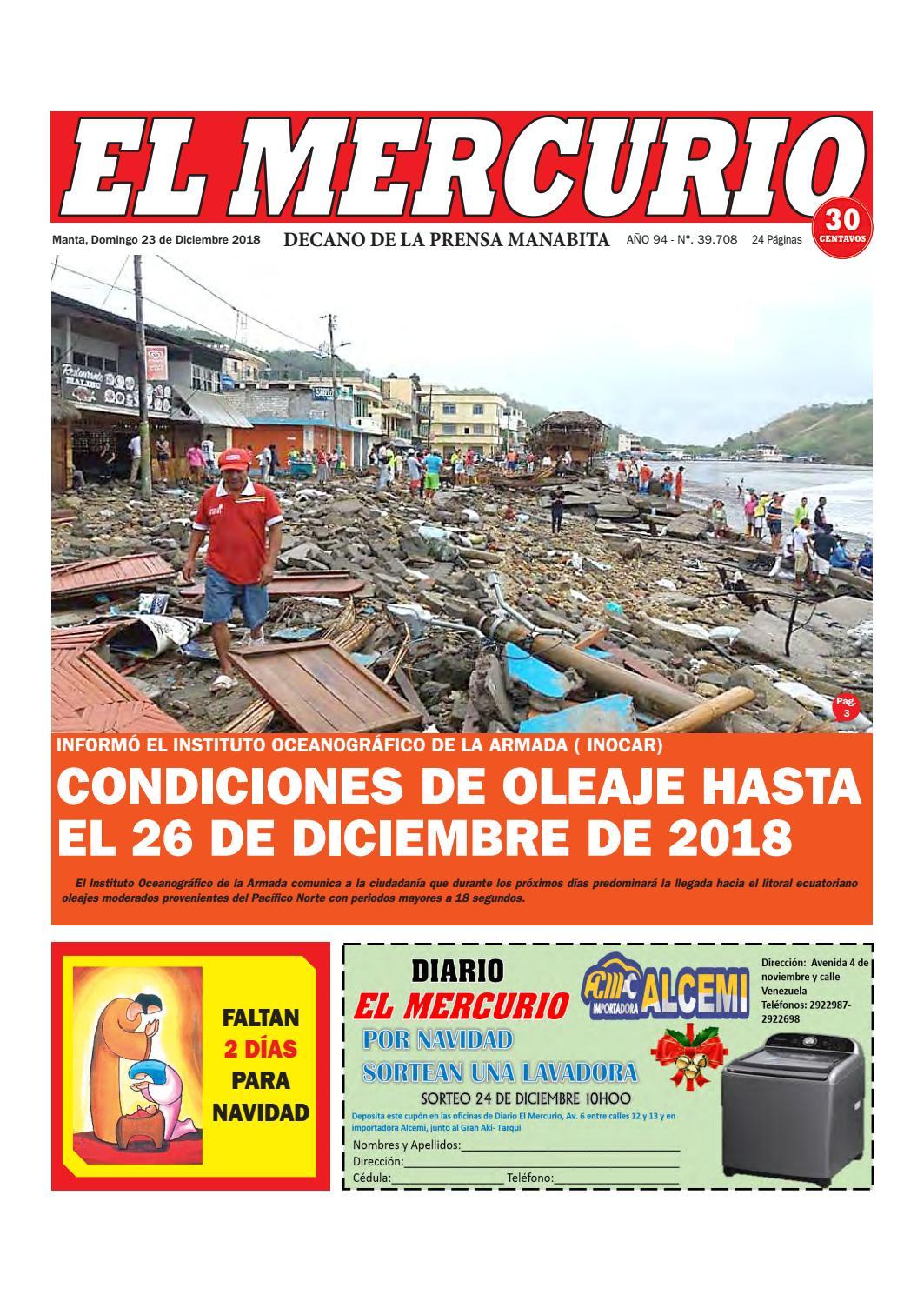 73e19fa8869c DOMINGO 23 DE DICIEMBRE DE 2018 by Diario El mercurio - issuu