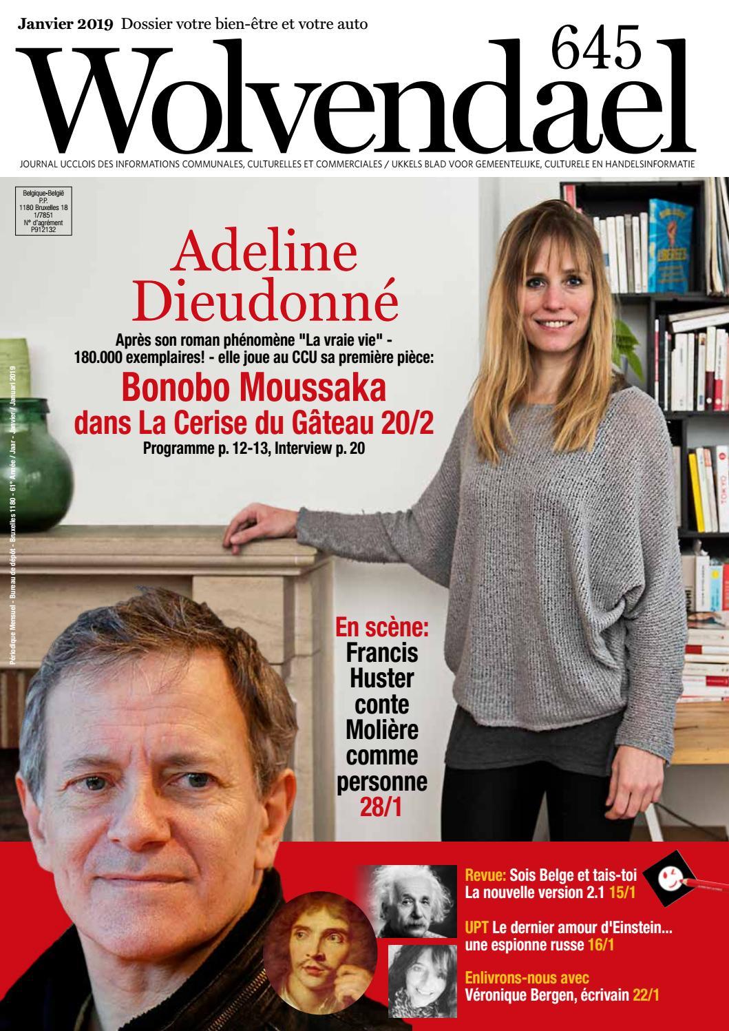 Wolvendael Magazine N 645 Janvier 2019 By Centre Culturel D