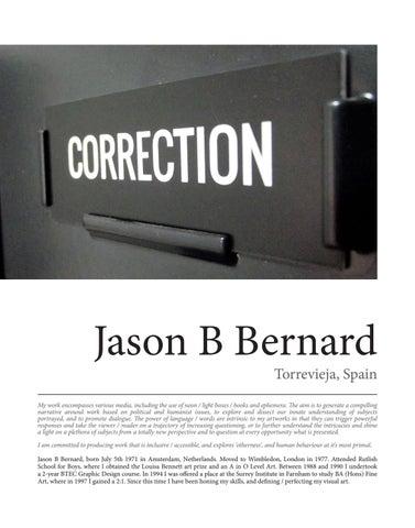 Page 25 of Jason B Bernard