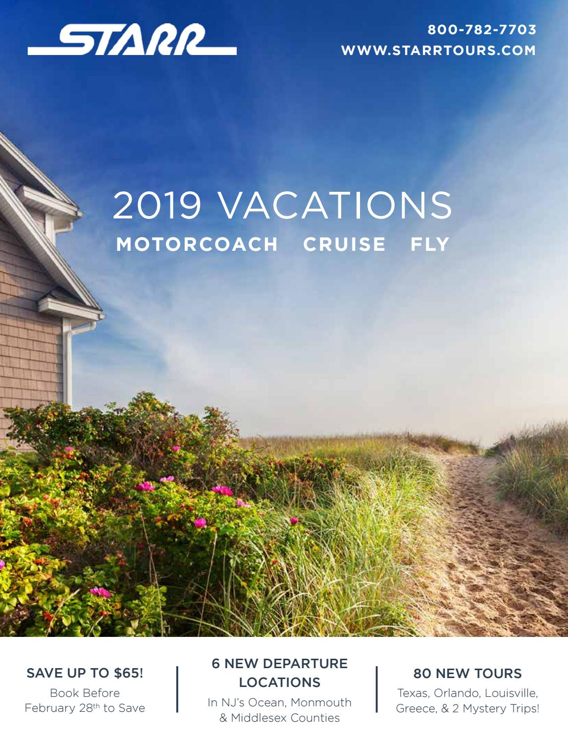 Starr Vacations 2019 By Starr Tours Issuu