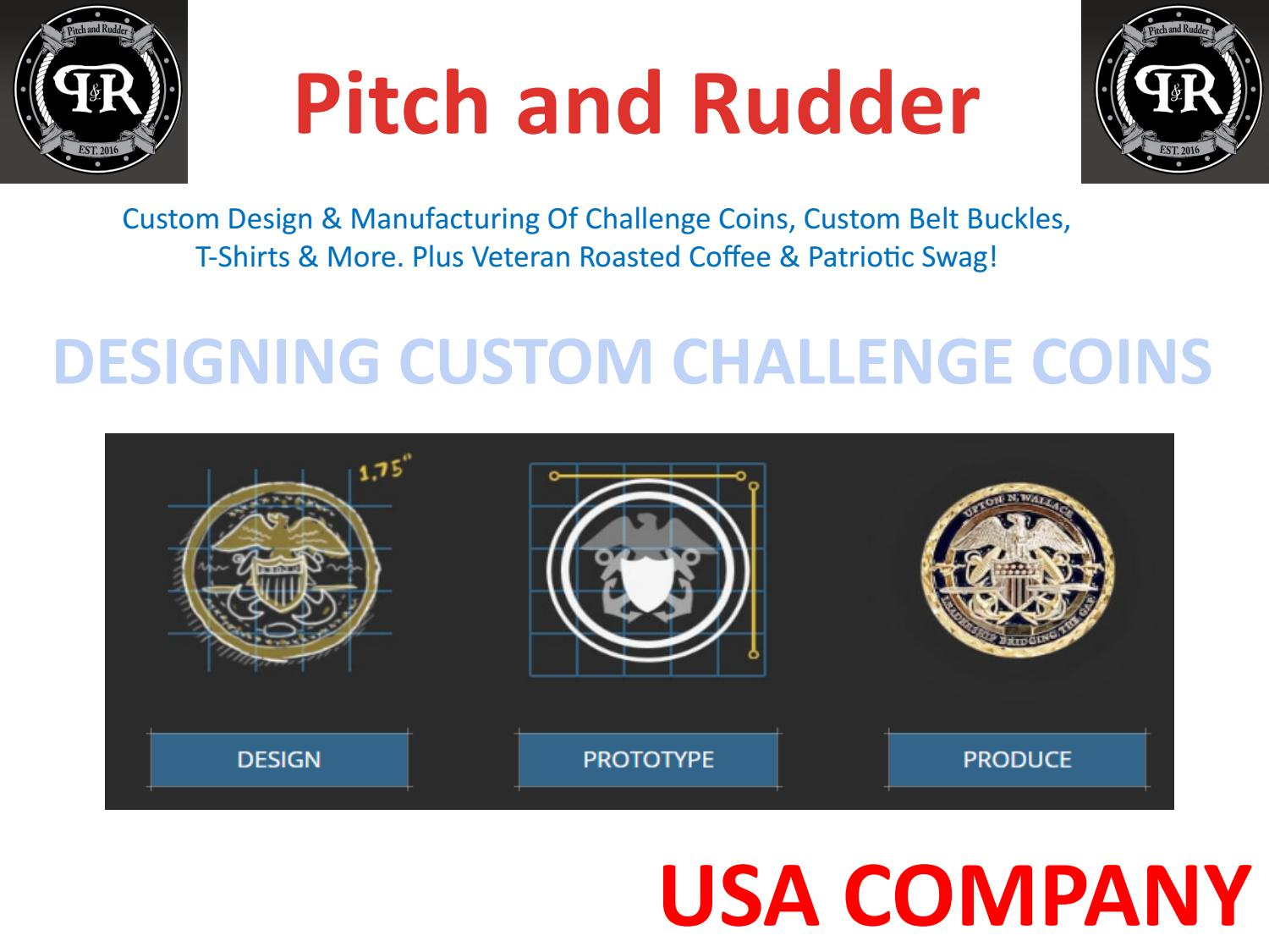 Custom Challenge Coins | Military Belt Buckles | USA Coins