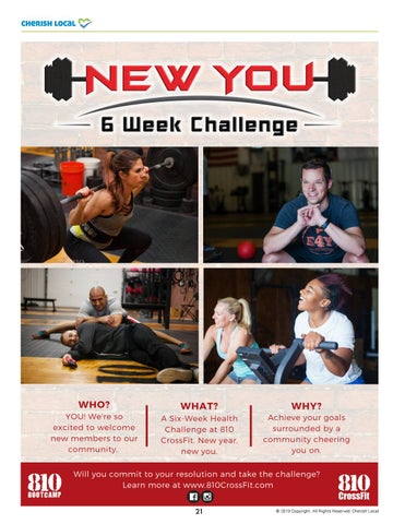 Page 21 of New You, 6 Week Challenge