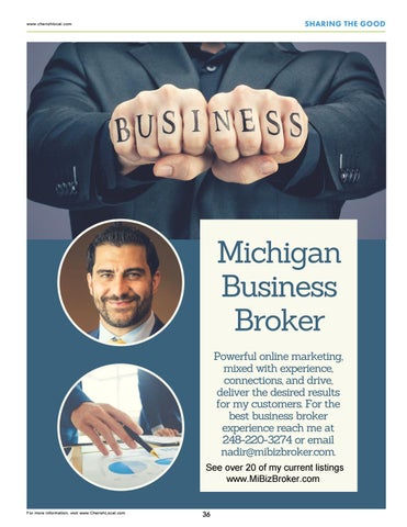 Page 36 of Michigan Business Broker