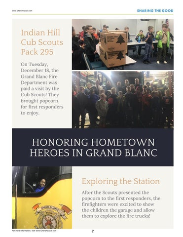 Page 7 of Honoring Hometown Heroes in Grand Blanc