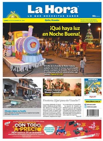 9d9b82104f787 Quito 24 de diciembre del 2018a by Diario La Hora Ecuador - issuu