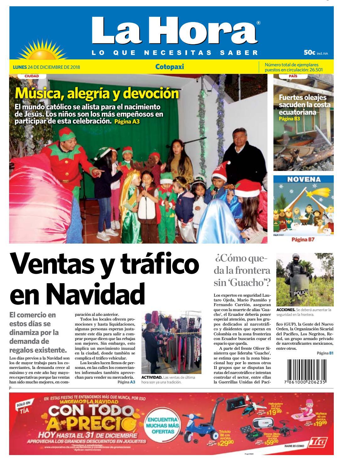 fb6179dbef0 Cotopaxi 24 de diciembre del 2018 by Diario La Hora Ecuador - issuu