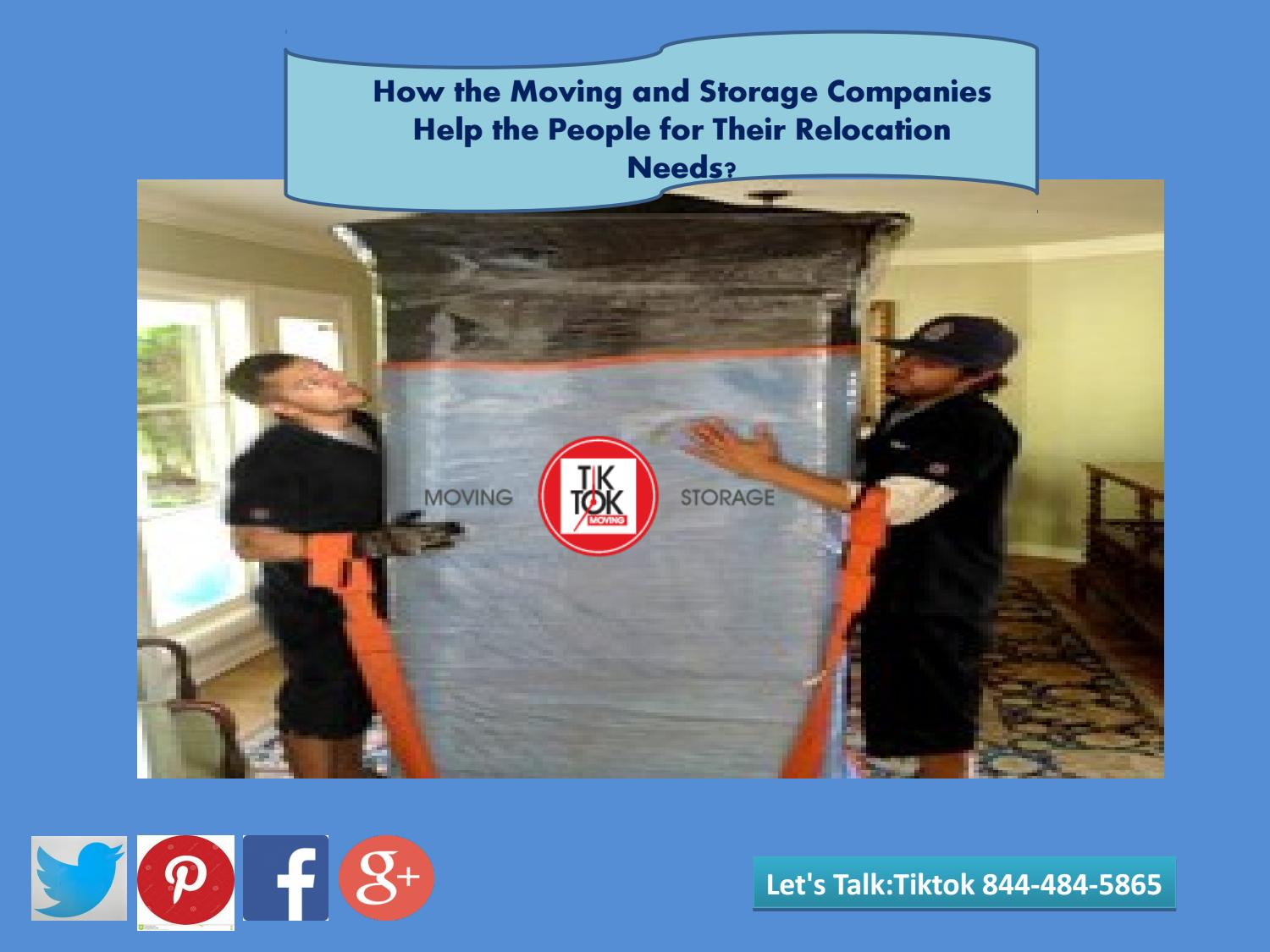 Moving And Storage Companies >> How The Moving And Storage Companies Help The People For