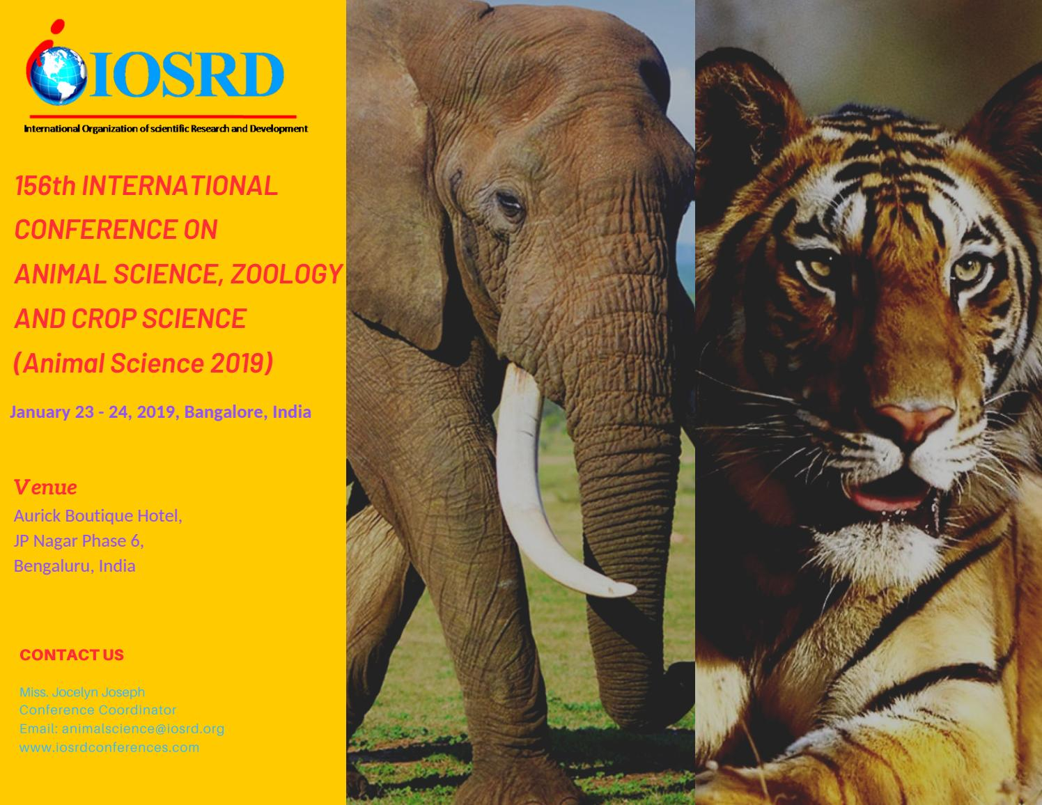 Animal Science Conference 2019 by IOSRD Journals and Conferences - issuu