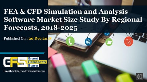 FEA & CFD Simulation and Analysis Software Market Size Study By