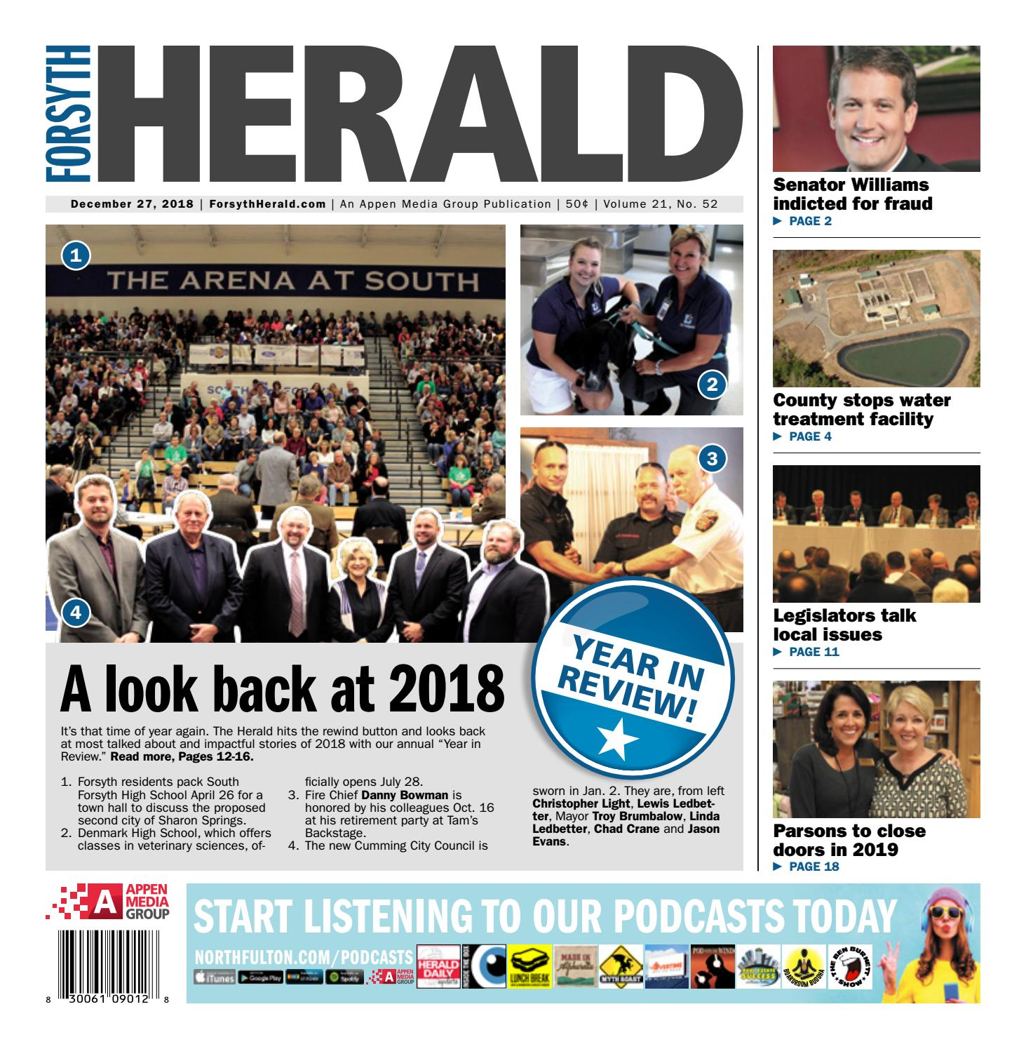Forsyth Herald – December 27, 2018 by Appen Media Group - issuu