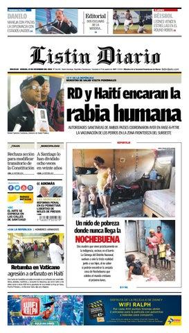 info for 19336 0622d LD 22-12-2018 by Listín Diario - issuu