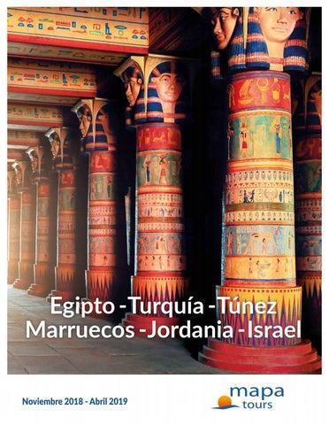 """Portada de """"Viajes Mapa Tours 2019 - Turquía, Egipto, Jordania, Israel"""""""