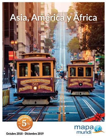 """Portada de """"Circuitos por Asia, África y América 2019 con Mapa Tours"""""""