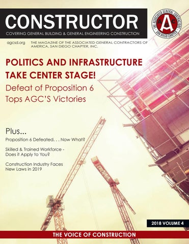 AGC San Diego CONSTRUCTOR Magazine 2018 - Volume 4 by AGC