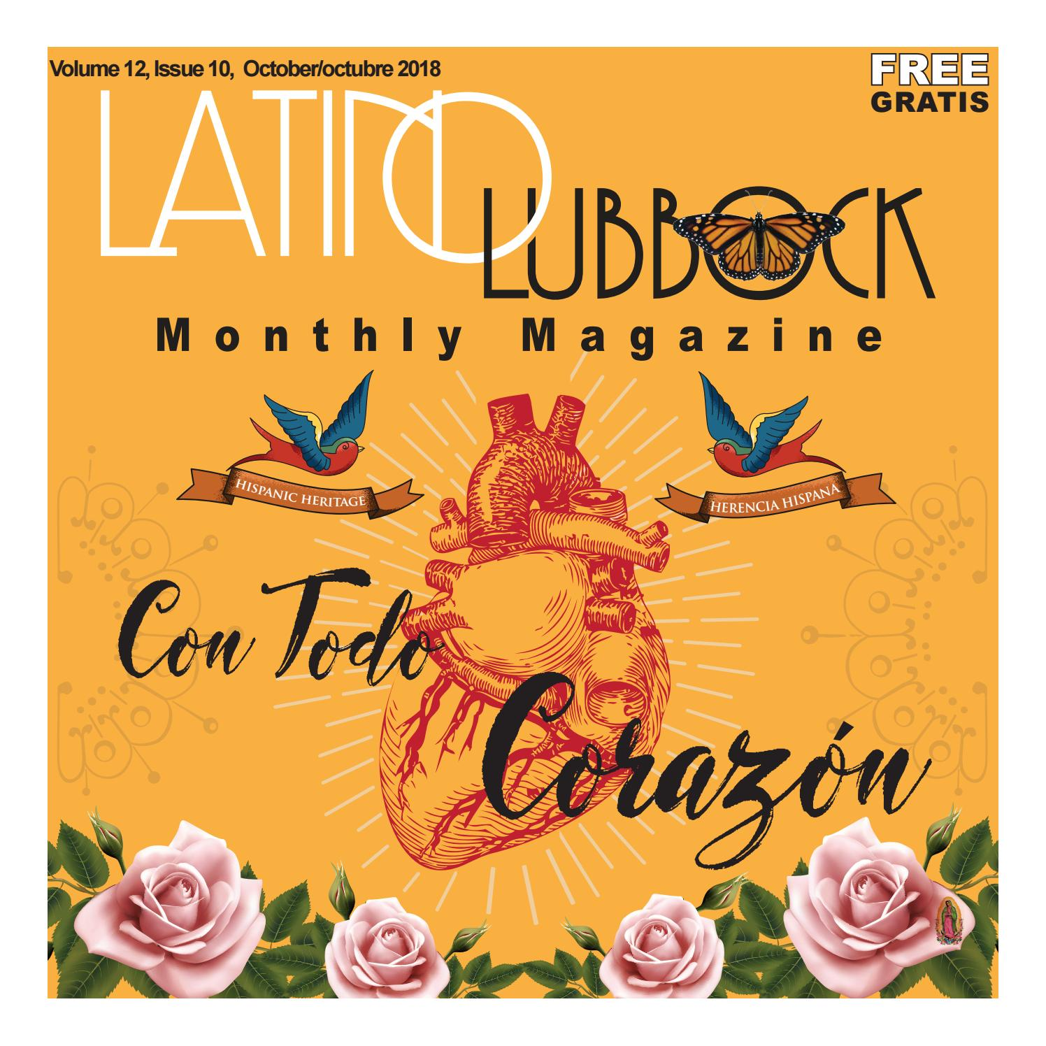 Volume 12, Issue 10, October/octubre 2018 by Christy
