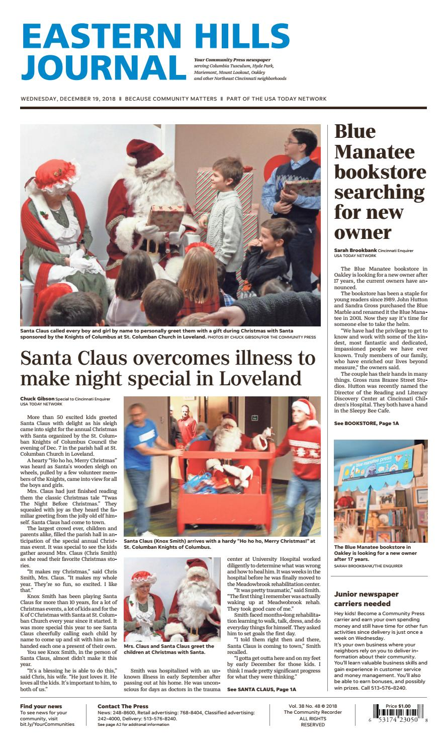 Eastern Hills Journal By Enquirer Media Issuu