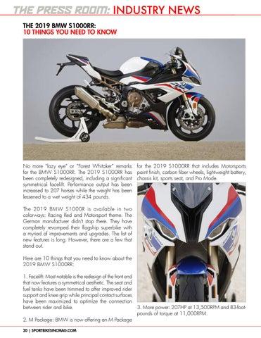 Sportbikes Inc Magazine November 2018 By Hard Knocks Motorcycle
