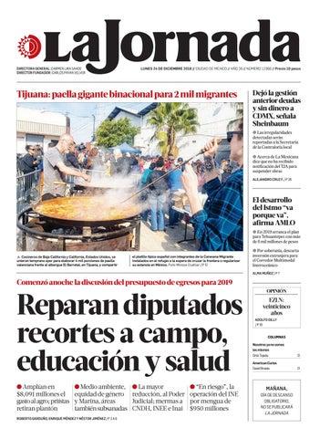 0db9fb7d8f La Jornada, 12/24/2018 by La Jornada - issuu