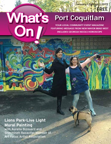 What's On Poco Jan/Feb 2019 by What's On Port Coquitlam - issuu