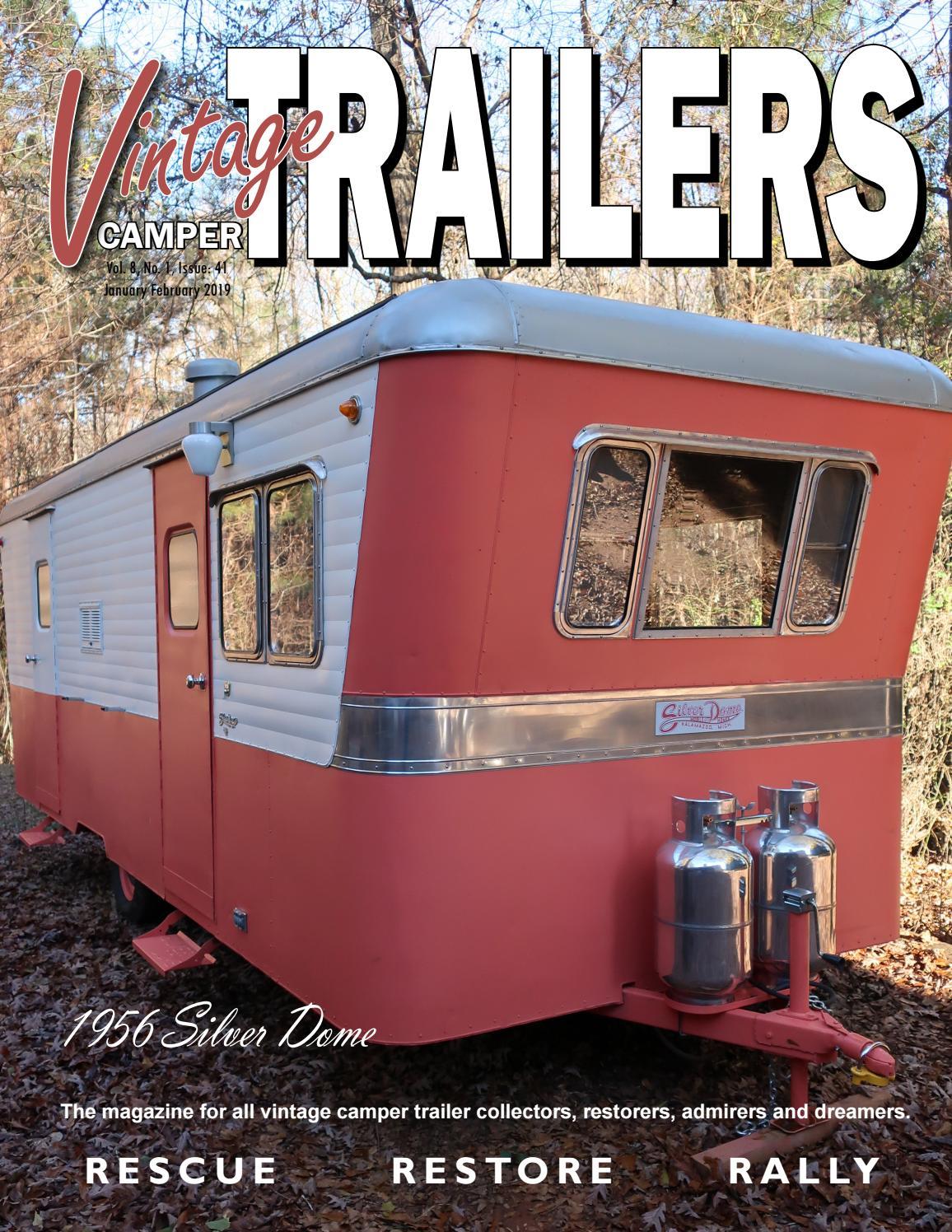 The Vintage Camper Trailers Magazine #41 by Vintage Camper Trailers
