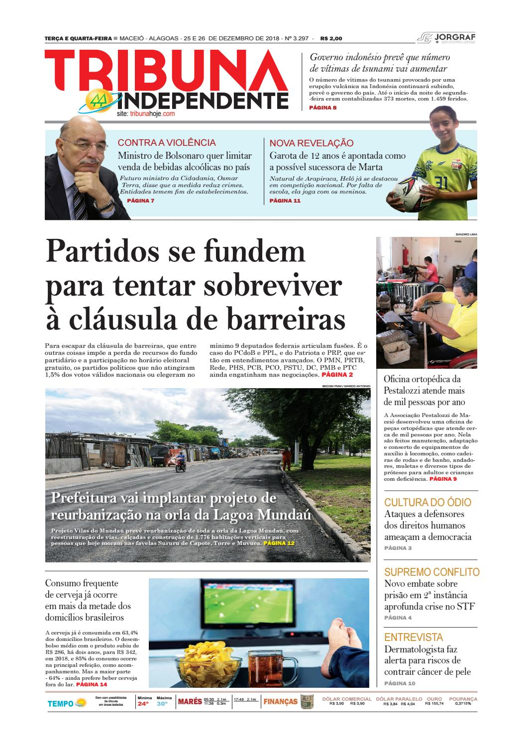 c4fbf99e6 Edição número 3297 - 25 de dezembro de 2018 by Tribuna Hoje - issuu