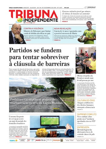 Edição número 3297 - 25 de dezembro de 2018 by Tribuna Hoje - issuu 33d3be55e1