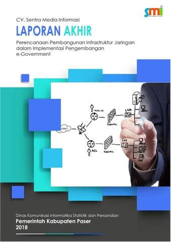 Laporan Akhir Perencanaan Pembangunan Infrastruktur Jaringan By Diskominfo Paser Issuu