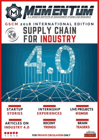 Momentum- GSCM 2018 International Edition by FORSE SIMSR - issuu