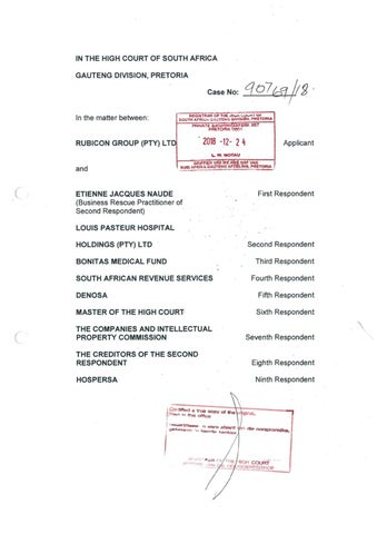 page_1_thumb_large Telefax Application Form High Court Gauteng on