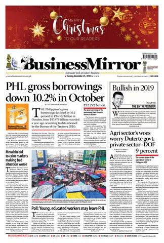 BusinessMirror December 25 2018 By BusinessMirror Issuu